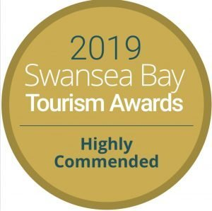 Highly commended Swansea Bay Toursim Award