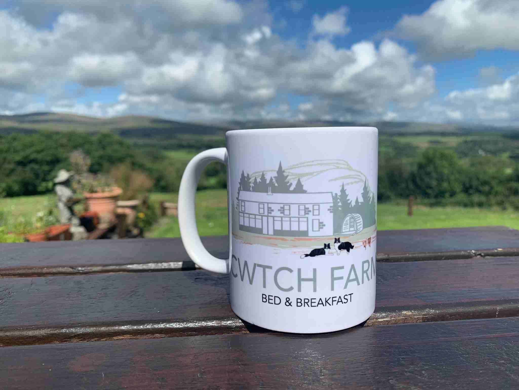 Cwtch Farm Mug Logo