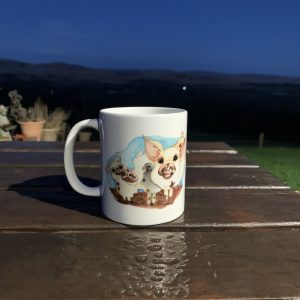 Cwtch Farm Pig Mug